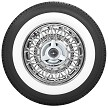 American Classic white wall tire shown is optional. To order a wire wheel and white wall tire package, please give us a call for our best price quote.